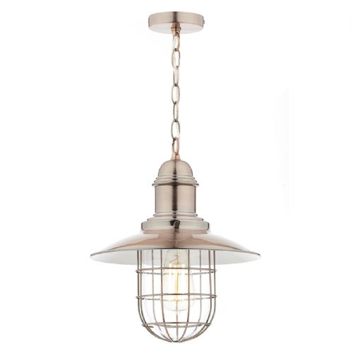 Terrace 1 Light Pendant Copper (Class 2 Double Insulated) BXTER0164-17